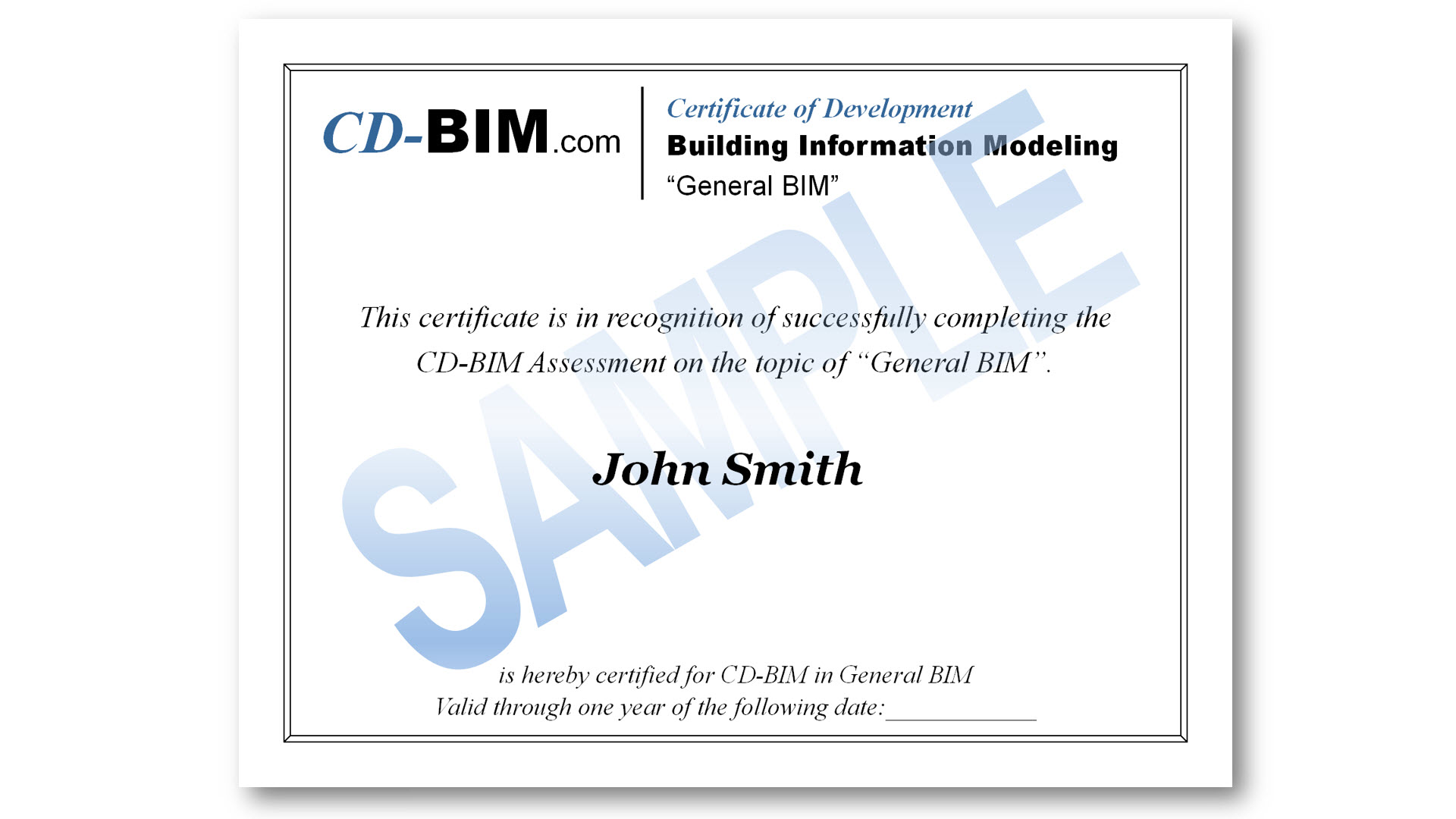 Cd Bim Part I Certification On Demand Training And Exam With Usibd